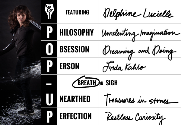 Pop-up Series with Delphine Lucielle