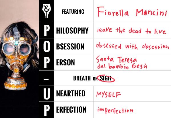 Fiorella Mancini Pop-up Feature