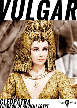 Cleopatra was the last pharaoh of Ancient Egypt. Her romantic liaisons and military alliances, as well as her exotic beauty and powers of seduction, earned her an enduring place in history. She was portrayed by Elizabeth Taylor in the 1963 film Cleopatra.