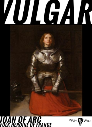 Claiming divine guidance, Joan of Arc, a peasant girl living in medieval France, convinced the embattled crown prince Charles of Valois to allow her to lead a French army to the besieged city of Orléans, where it achieved a momentous victory over the English.