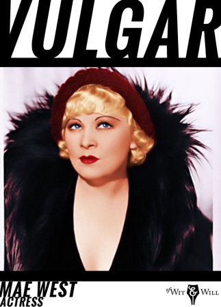 Mae West was an American stage and film actress whose frank sensuality, languid postures, and frequent wisecracking became her trademarks.