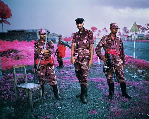 Richard Mosse's The Enclave at La Biennale di Venezia 2013